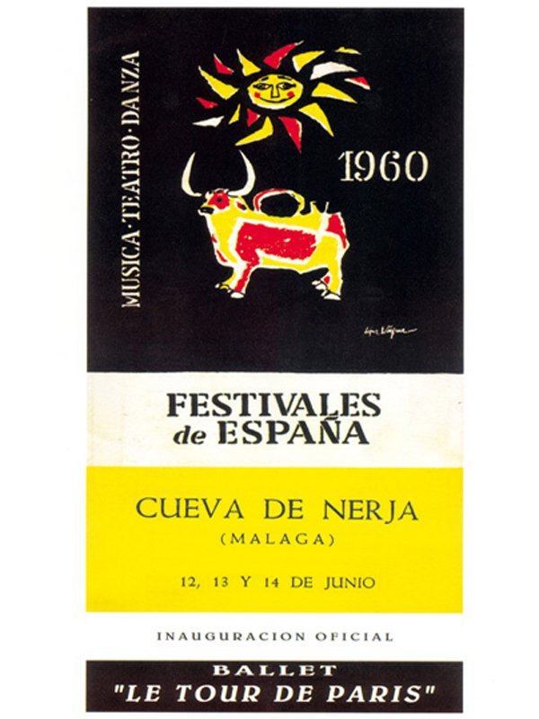 Caves of Nerja Festival 1960