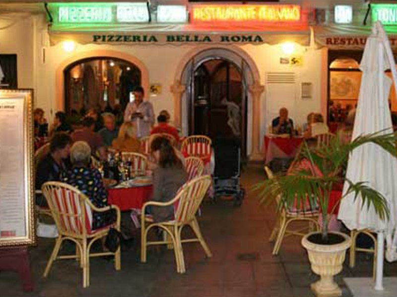 Restaurant bella roma nerja for Ristorante elle roma
