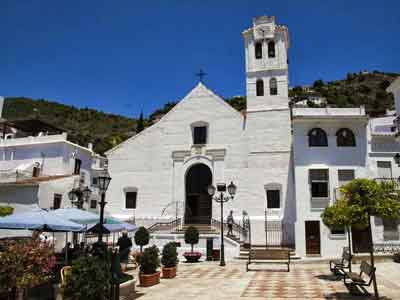 Visiting Frigiliana Church