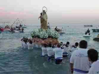 What's on in Nerja Virgen del Carmen Fiesta