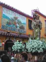 Virgen del Carmen Fiesta in Spain