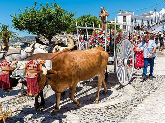 What's on in Nerja Virgen del Carmen Fiesta