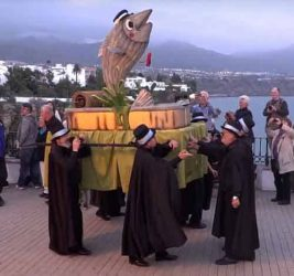 Nerja Carnival Funeral Chanquette