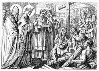Empress Helena and the Cross of Jesus
