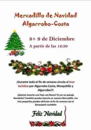 Christmas market Algarrobo Costa 2018
