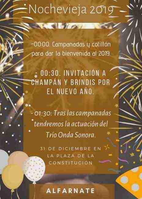 Alfarnate New Year's Eve 2018