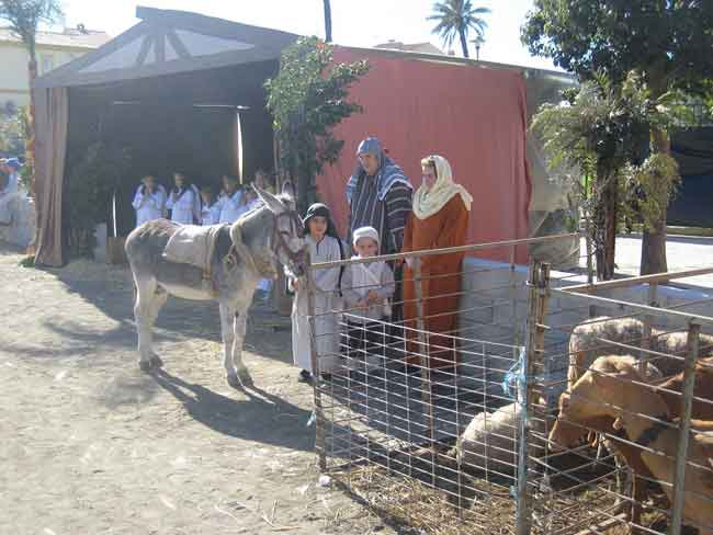 Almayate Living Nativity Play 2018