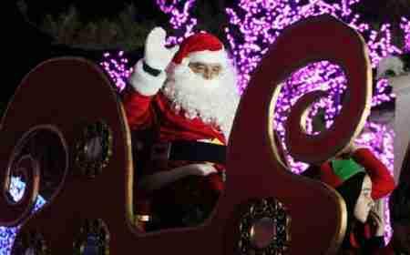 Santa in Nerja
