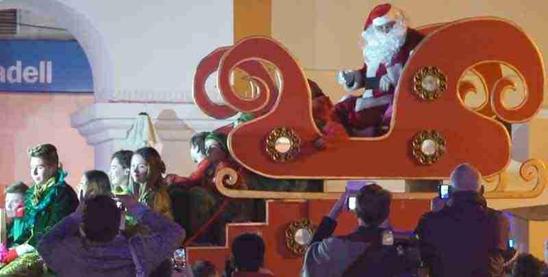 Santa Parade in Nerja